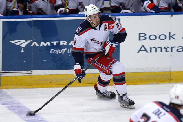 Jayson Megna of the Hartford Wolf Pack