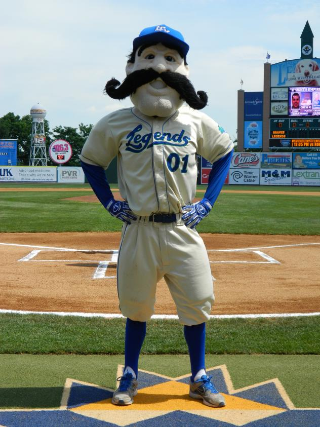 Lexington Legends Mascot Big L