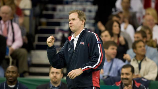 New York Empire Coach Patrick McEnroe
