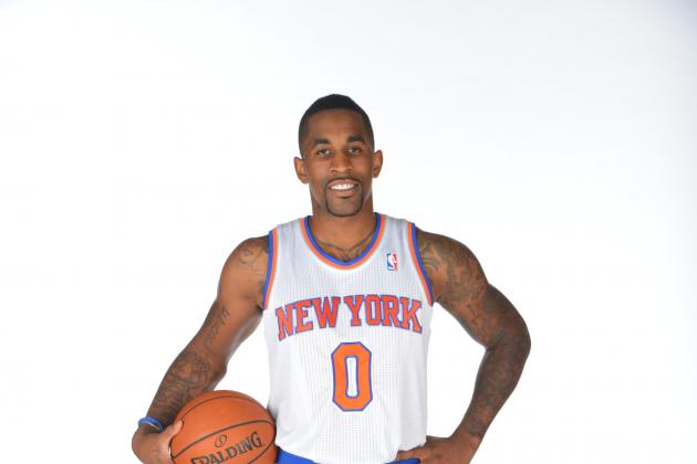 Chris Smith with the New York Knicks