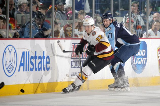 Chicago Wolves C Ivan Barbashev vs. the Milwaukee Admirals