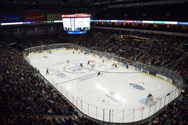 Sioux Falls Stampede Game at the PREMIER Center