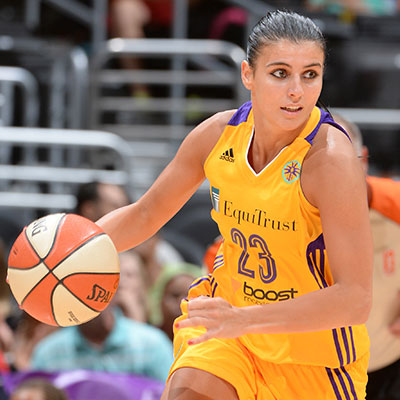 Los Angeles Sparks Guard Ana Dabovic