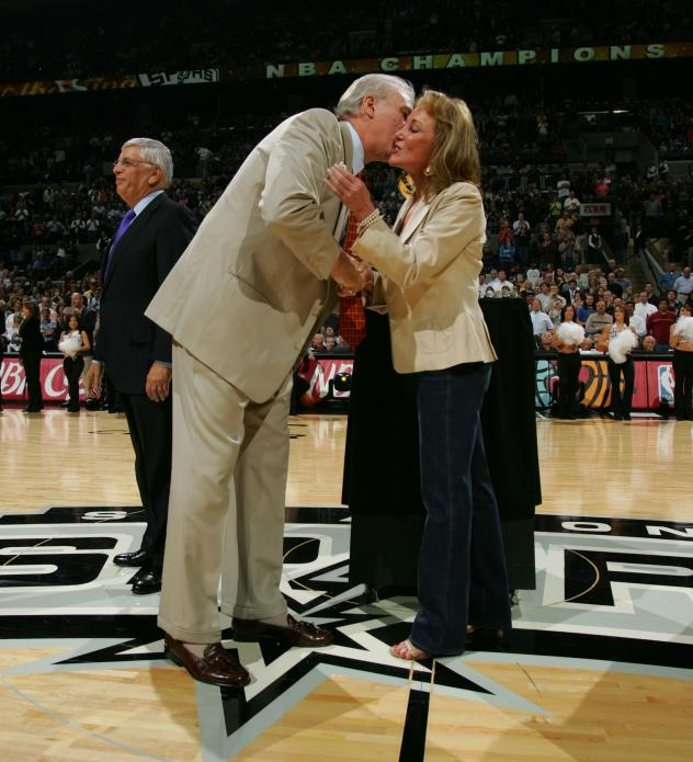 San Antonio Spurs Chairman and CEO Julianna Hawn Holt