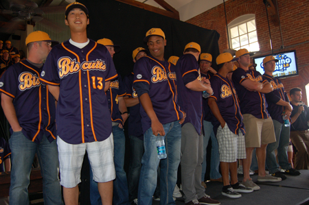 Montgomery Biscuits Prepare to Meet the Fans