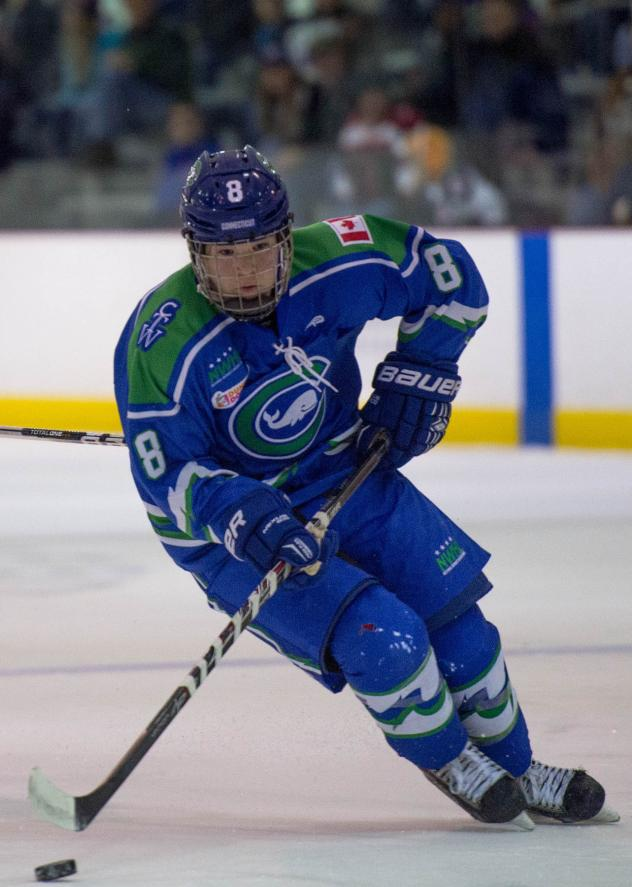 Connecticut Whale Forward Kelly Babstock