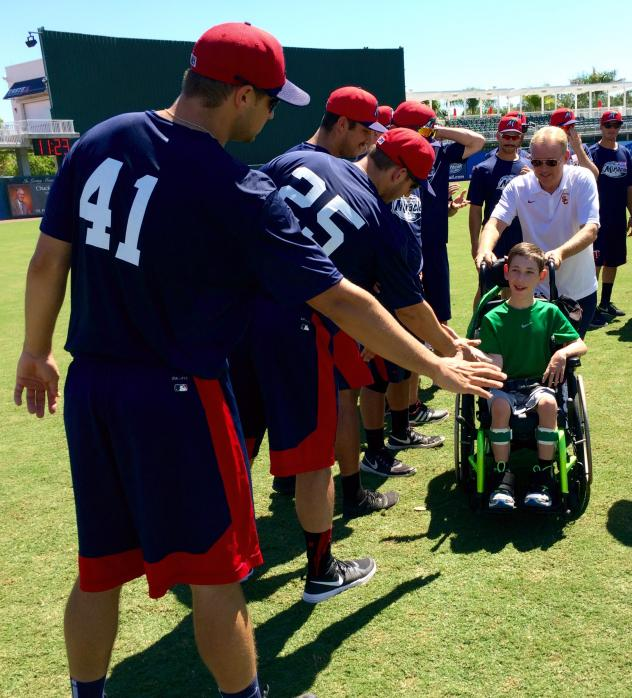 Fort Myers Miracle and Dave Clark 11th Annual Special Needs Camp