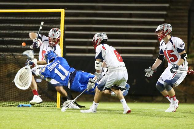 Charlotte Hounds Score vs. the Boston Cannons