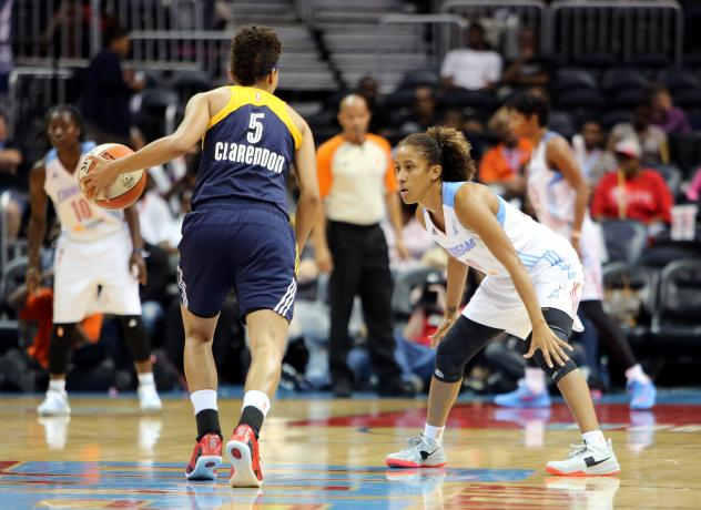 Carla Cortijo of the Atlanta Dream Faces the Opposition