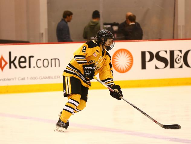 Boston Pride Defenseman Alyssa Gagliardi
