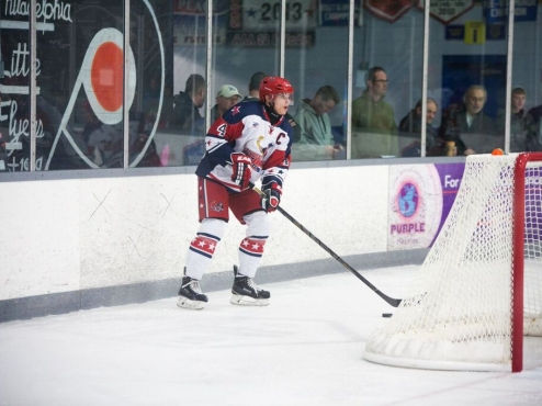 Kristofers Bindulis of the Aston Rebels