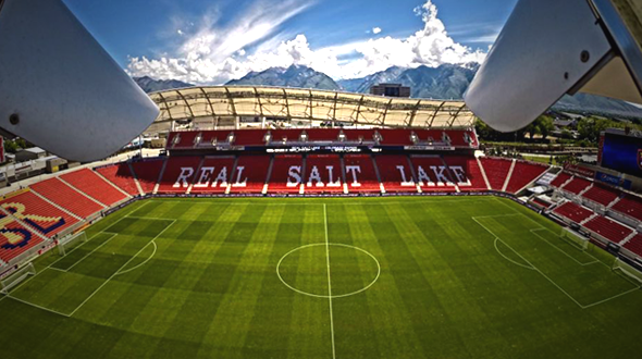 Rio Tinto Stadium, Home of Real Salt Lake