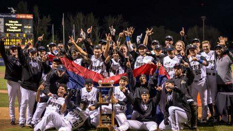 Missoula Osprey Celebrate Pioneer League Title