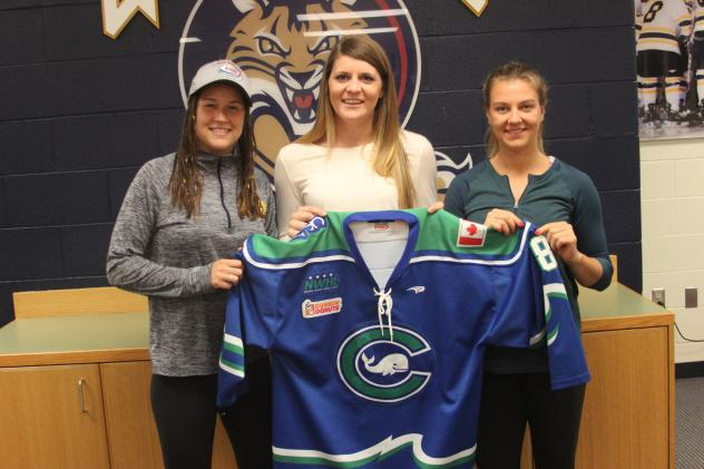 Connecticut Whale Signees Cydney Roesler, Nicole Connery, and Nicole Kosta