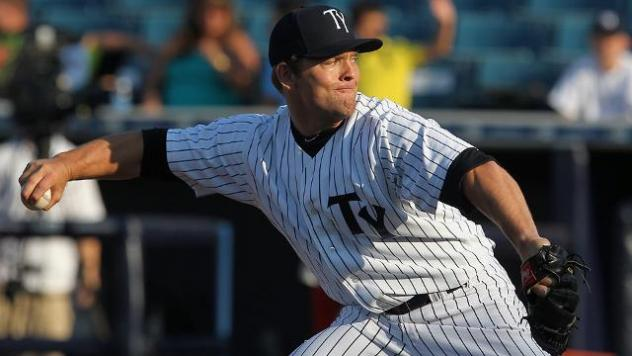 Tampa Yankees Pitcher Chance Adams