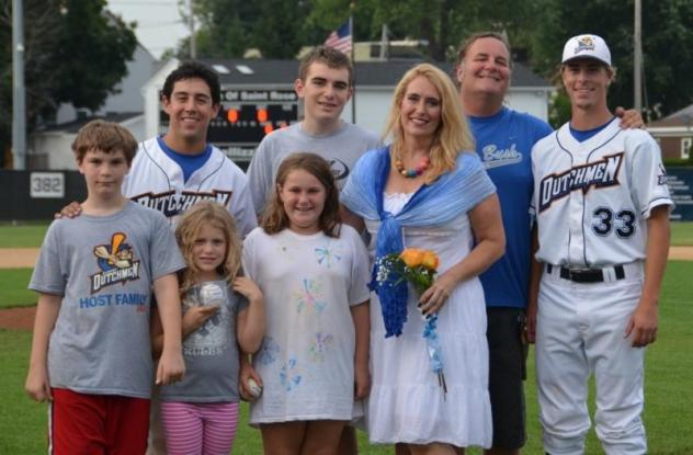 Albany Dutchmen and a Host Family