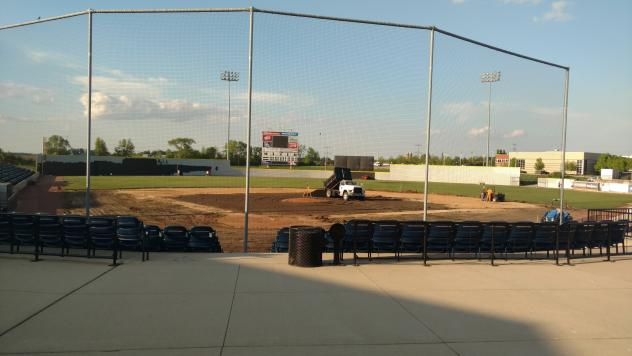 Construction Continues at Rivets Stadium, Home of the Rockford Rivets