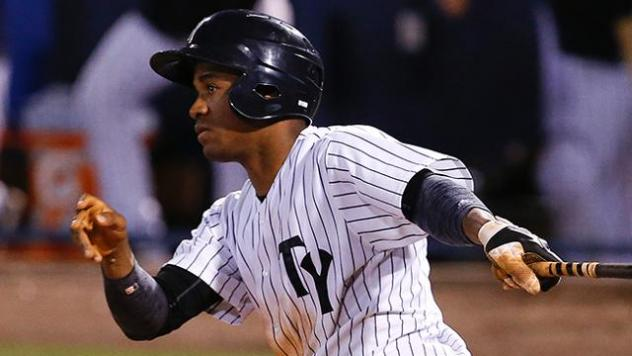 Abiatal Avelino of the Tampa Yankees