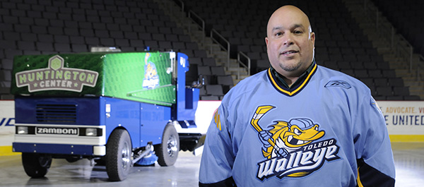 Huntington Center Operations Manager Jesus Rivera