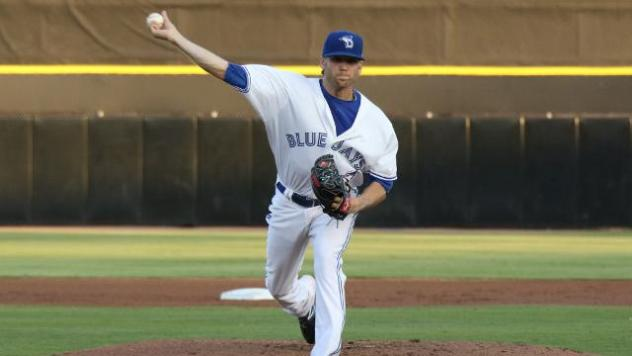 Dunedin Blue Jays Pitcher Chris Rowley