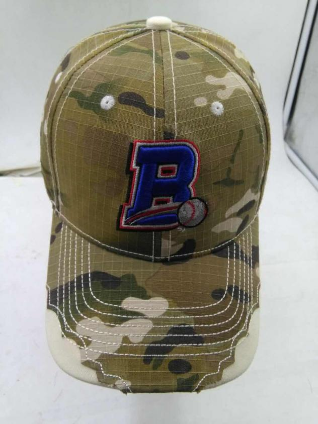 Rockland Boulders Military Appreciation Camo Hat