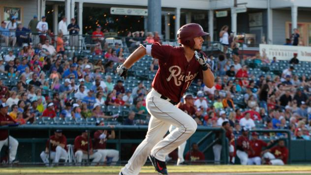 Riders Dial up Late Magic in Four-Run Eighth
