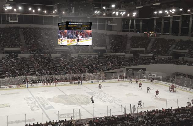 New Video Replay Screens to be Installed at Veterans Memorial Coliseum