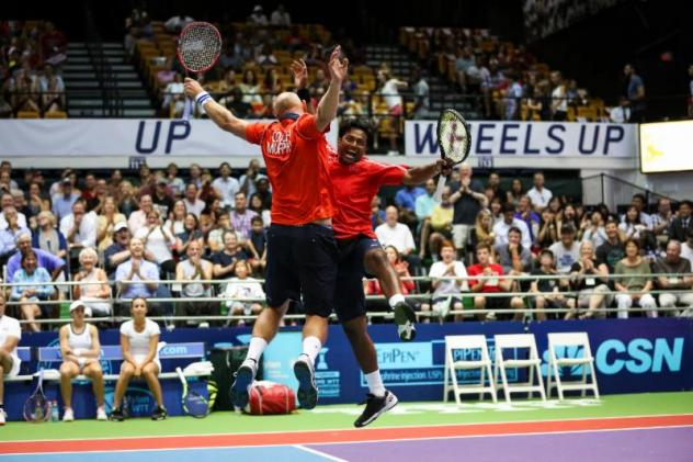 Kastles Win Unforgettable Match to Go 3-0; Paes, Jensen and Brengle Lead Heroic 23-14 Victory