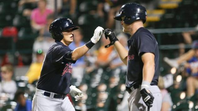 Cornelius Homers in Game 1 Loss at Bradenton