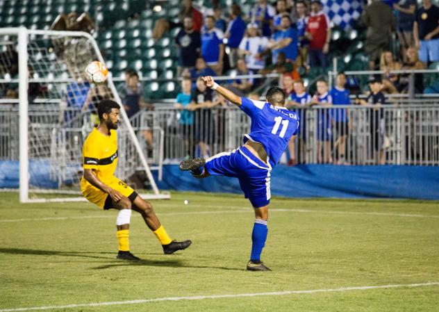 Estrada Scores Twice as Independence Top Riverhounds 4-0