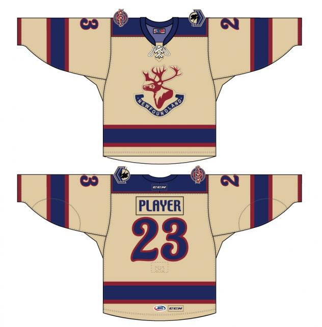 IceCaps Reveal Design of New Tribute Jersey