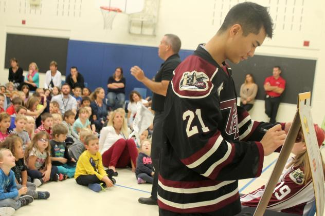 Petes Partners in Education Presented by Bell Let's Talk And	 Cameco Kicked off on October 12