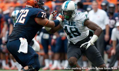 Empire Signs DL Royce Lafrance