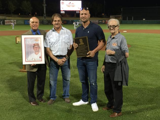 Matt Holliday Inducted into AZ Fall Lge HOF