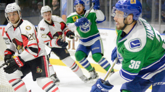 B-Sens Power Play Leads Team to 2-1 Win over Comets