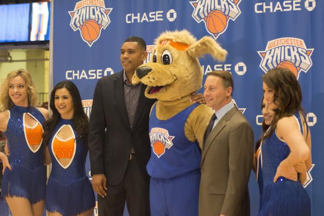 Westchester Knicks Introduce New Mascot: Hudson Knickerbocker