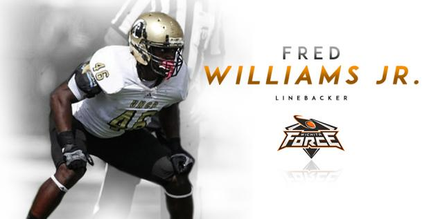 Force Adds Depth and Versatility with LB Fred Williams Jr.