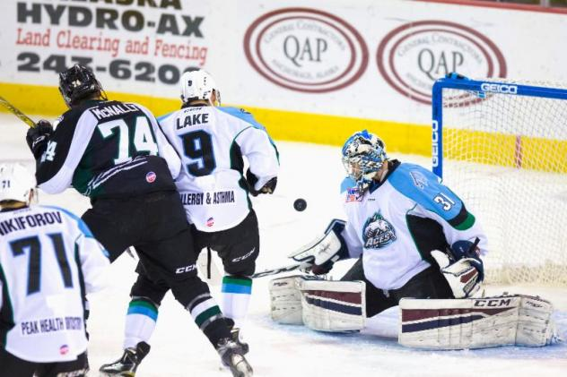 Aces' Kevin Carr Named ECHL Goaltender of the Week