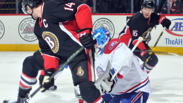 McCormick's Three-Point Night Lifts B-Sens 4-3 in OT over IceCaps