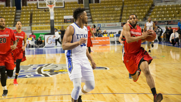 Orangeville A's Struggle Offensively at the Aud, Fall 93-83 to KW Titans