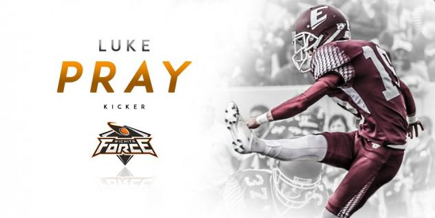 Force Sign Placekicker Luke Pray