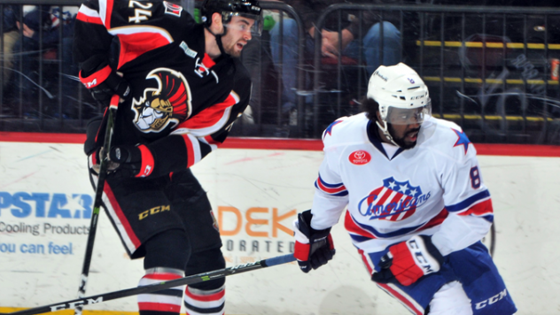 Blunden Scores Late as B-Sens Down Amerks 4-3