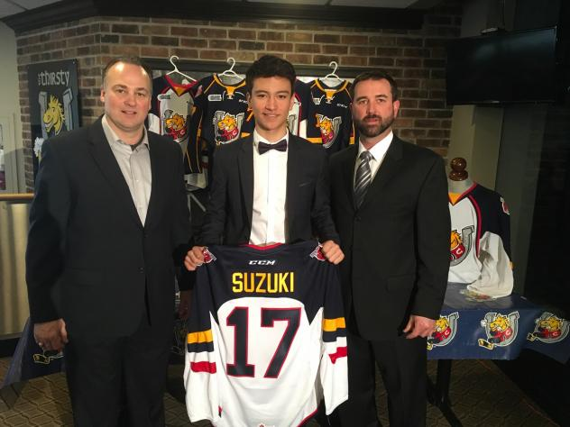 Barrie Colts Announce Ryan Suzuki as 1st Overall Pick in the 2017 OHL Priority Selection