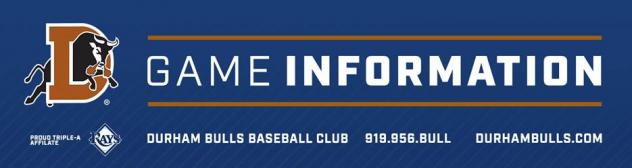 Durham Bulls Game Notes 4.7.17