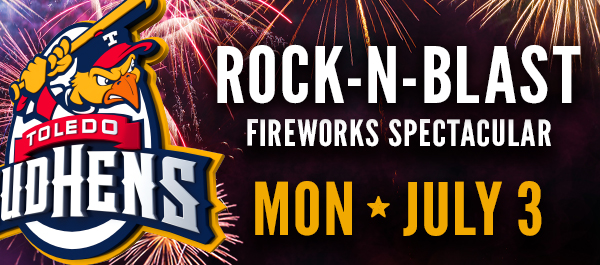 Mud Hens Announce Biggest Fireworks Show
