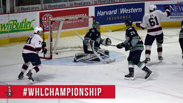 Media Release -- Regina Pats Win Game 2 of WHL Championship Series