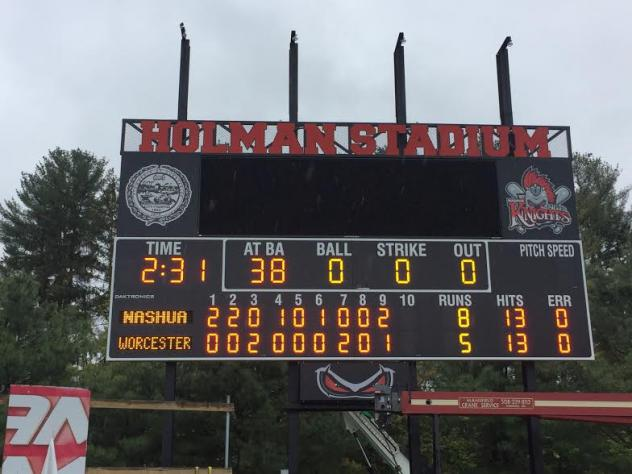 New Scoreboard Update: It Is Done - New Silver Knights Record Book - Day Time Baseball, Great for a