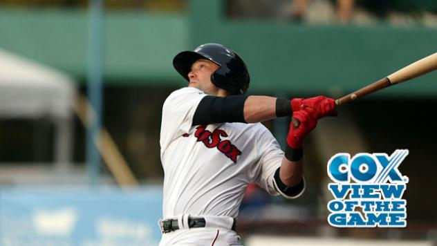 Brentz Walk-Off Gives PawSox Win in 12th