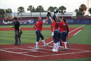 USSSA Pride Take Home Game 2 of Series with Akron Racers