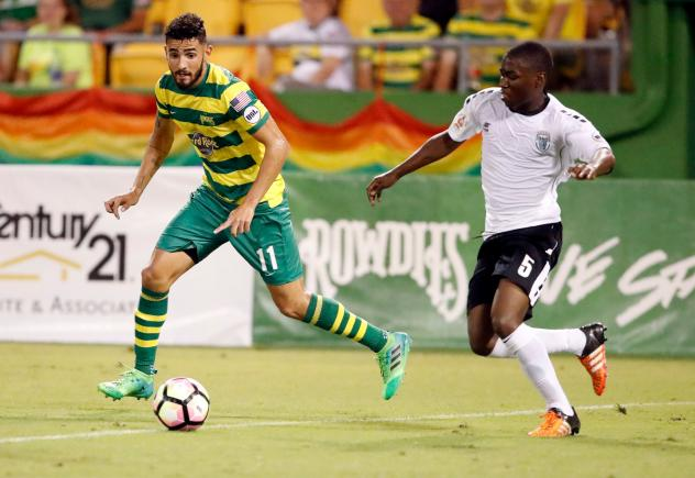 Tampa Bay Rowdies Held to 1-1 Draw by Rochester Rhinos